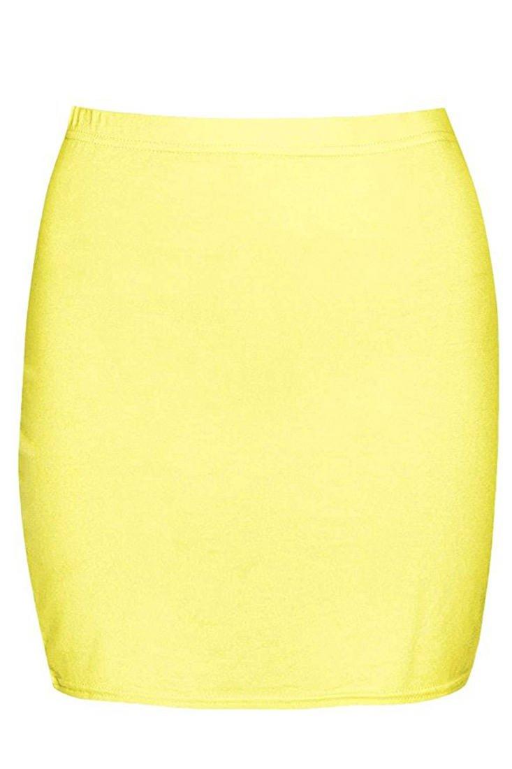 Womens Jersey Mini Skirt-73O6