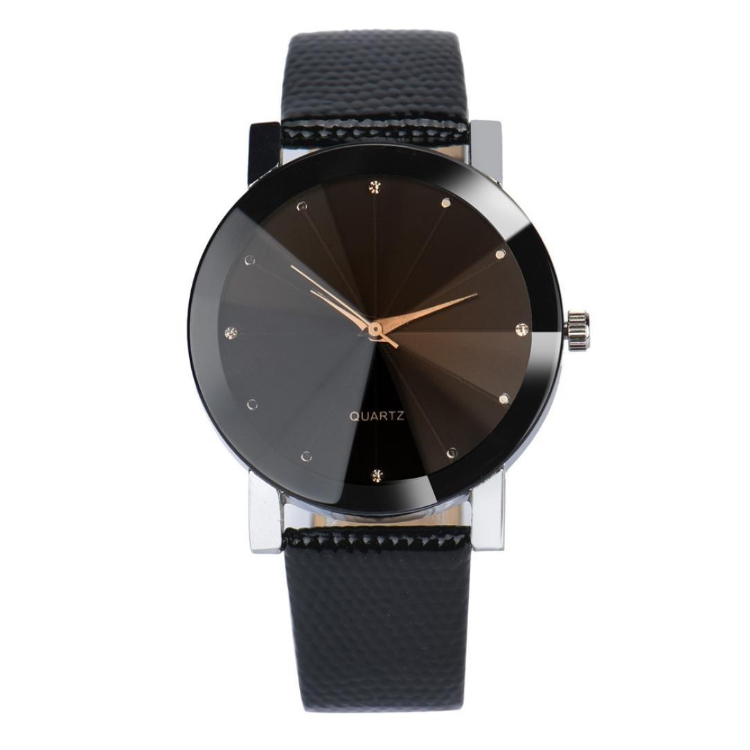 ZLOLIA Luxury Quartz Sport Military Stainless Steel Dial Leather Band Wrist Watch