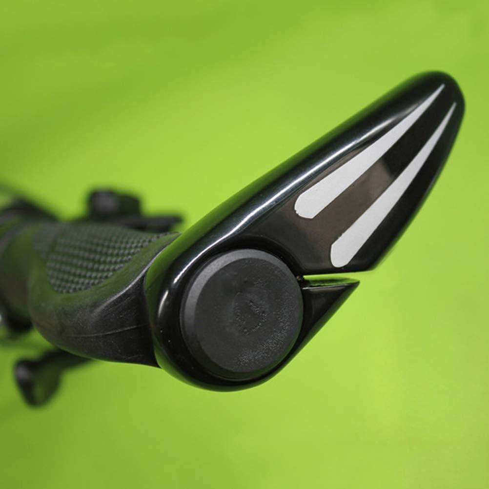 LIOOBO 10pcs 22mm V/élo Guidon Bar Fin Bouchons Embouts Extr/émit/és pour V/élo Route Grip Montagne BMX VTT Noir