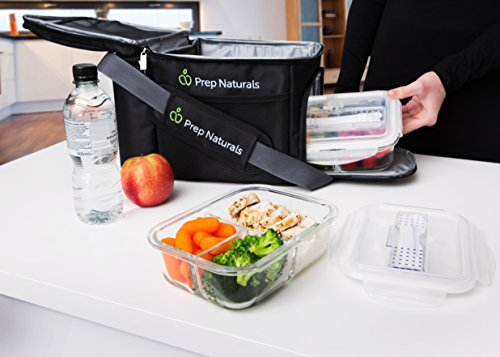 Prep Naturals Glass Meal Prep Food Storage Containers Uk