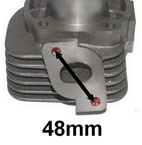 Unbranded 70ccm Tuning Zylinder KIT Set KOLBEN f/ür DINLI JP DL 502 ATV Quad 50 2T Zylinderkit