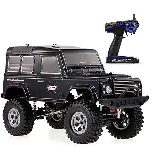 Goolsky RCカー RGT 136100 1/10 2.4GHz 4WD 防水高性能 現実的な ロック クルーザー RC-4 車 オフロード クローラー 子供 RTC ラジコンカー