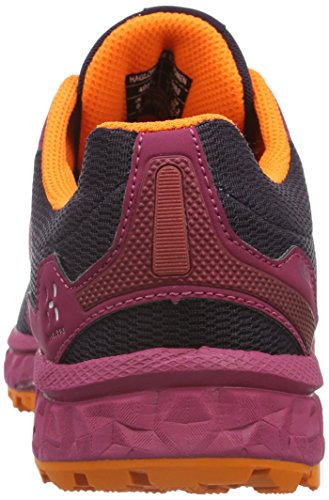 Haglöfs Gram Xc Ii, Zapatillas de Running Para Asfalto Para Mujer Rosa (Volcanic Pink/Acai Berry)
