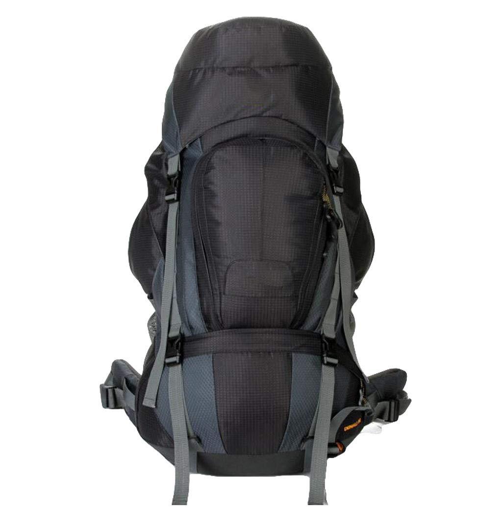 FGSJEJ バックパック 多機能登山バッグ アウトドア 旅行バッグ 80L B07GVMQQZZ ブラック