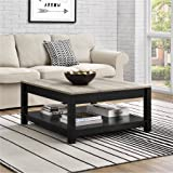 Langley Bay Chic Style Coffee Table, Black Review