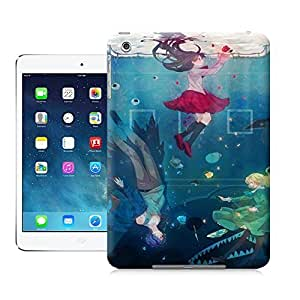 Unique Phone Case Watercolor girl#2 Hard Cover for ipad mini cases-buythecase