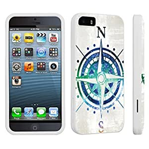 DuroCase ? Diy For Iphone 5C Case Cover Hard Case Whi(Cross Roses)