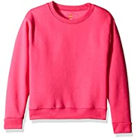 Hanes Big Girls' ComfortSoft Ecosmart Fleece Sweatshirt
