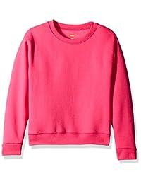 Hanes Girls Big Girls ComfortSoft EcoSmart Fleece Sweatshirt