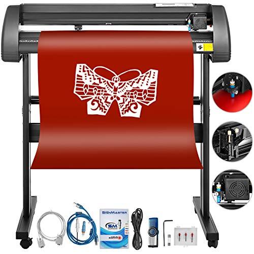 - Mophorn Vinyl Cutter 34 Inch Vinyl Cutter Machine 870mm Vinyl Printer Cutter Machine LCD Display Vinyl Plotter Cutter Machine Signmaster Software Sign Making Machine with Stand
