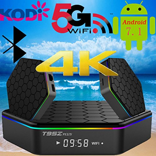Ikevan Dual WIFI Plus 2GB+16GB Smart Android 7.1 TV Box T95Z 17 Octa Core 2.4/5Ghz US by Ikevan