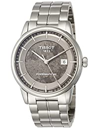 Tissot Men's ' Swiss Automatic Stainless Steel Dress Watch, Color:Silver-Toned (Model: T0864071106110)