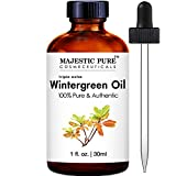 Majestic Pure Wintergreen Essential Oil, 1 fl Oz.