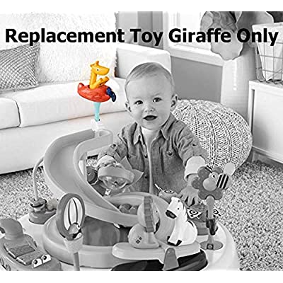 Fisher-Price 2-in-1 Sit-to-Stand Activity Center for Babies and Toddlers - Replacement Toy Giraffe: Toys & Games