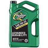 quaker motor oil - Quaker State 550044965 Advanced Durability 5W-20 Motor Oil (SN/GF-5), 5 quart