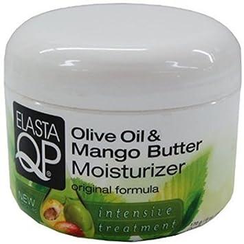 Elasta QP Olive Oil and Mango Butter Moisturizer, 8.25 oz Pack of 3