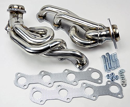 Ford F150 F250 Expedition 97-03 5.4L V8 Shorty Performance Headers Exhaust ()
