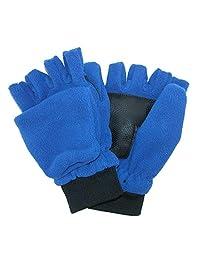 Grand Sierra Kids 4-7 Sport Fleece Convertible Glove, Royal Blue