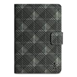 Belkin Tartan Cover Folio with Stand for Apple iPad mini, Black (F7N016ttC00)
