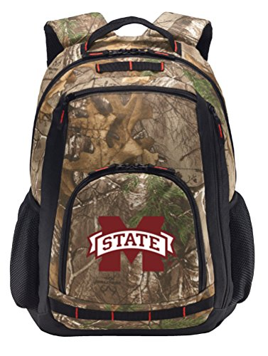 - Broad Bay Mississippi State Camo Backpack Realtree MSU Mississippi State Backpacks - Laptop Section!
