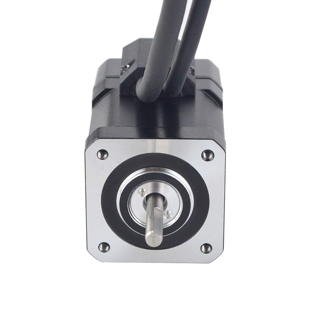 STEPPERONLINE P Series Nema 17 Closed Loop Stepper Motor 48Ncm//67.99oz.in with Encoder 1000CPR