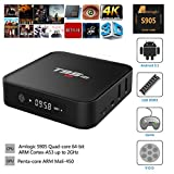 Henscoqi T95M Android TV Box Amlogic S905 Quad Core CPU 4K HD 5.1 Lollipop WiFi 1080P Dolby Supported