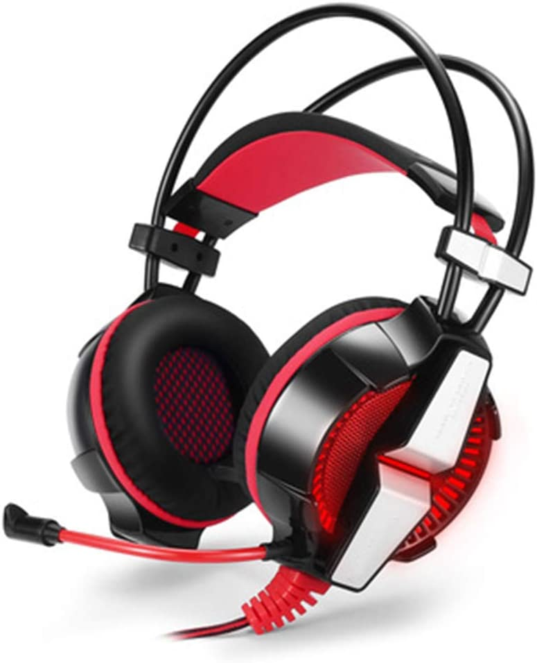 Suitable for PS4//Computer//Laptop//Mobile Phones Xfc 3.5mm Gaming Headset Stereo Headphone with Mic Bass LED Light