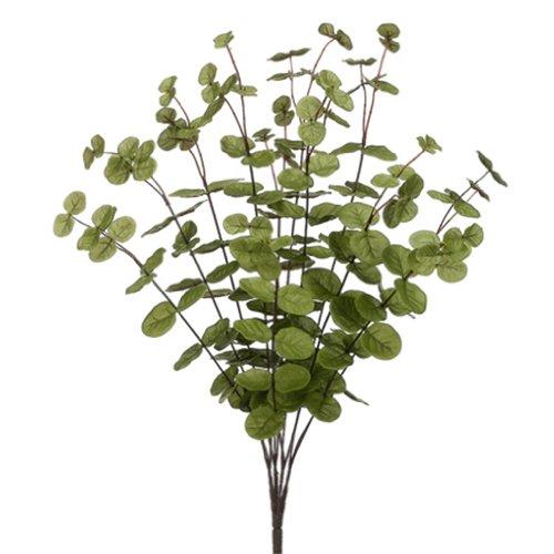 23'' Eucalyptus Silk Plant -Green (pack of 12)