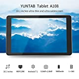 Yuntab 10.1 inch Android 7.0 Wifi Tablet PC