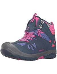 Merrell Capra Mid WTRPF Waterproof Boot (Toddler/Little Kid/Big Kid)