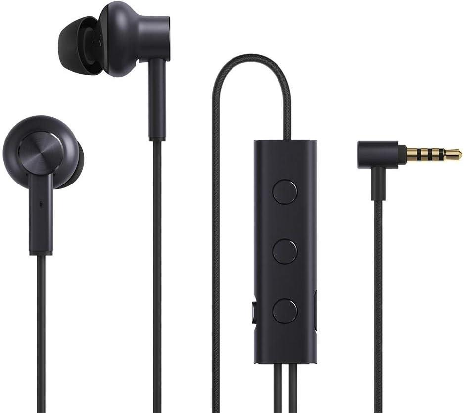 Xiaomi Mi Noise Canceling Earphones - Auriculares (Alámbrico, Dentro de oído, Binaural, Intraaural, 20-40000 Hz, Negro)