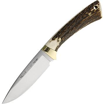 Muela - Cuchillo de caza Colibri Mango de cuerno de ciervo ...