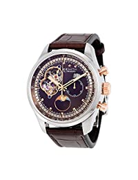 Zenith El Primero Chronomaster Automatic Brown Dial Brown Leather Mens Watch 512161404775C713