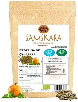 Proteina de Semillas de Calabaza (62% proteico) en Polvo ...