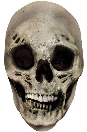 Skull Skeleton Nylon Full Halloween (Skull Nylon Full Mask)