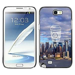 Dragon Case - FOR Samsung Note 2 N7100 - strong for too long - Caja protectora de pl??stico duro de la cubierta Dise?¡Ào Slim Fit