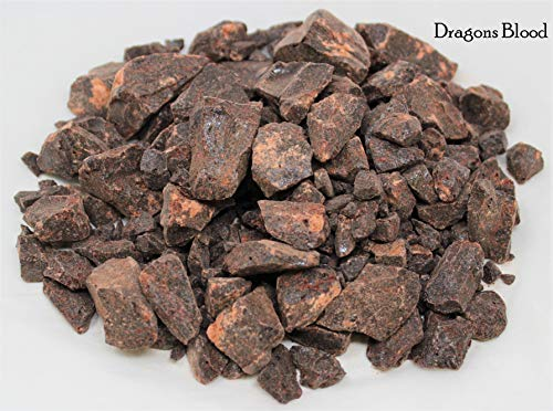 Rainbowrecords239 Resin Incense Sampler Set of 6: Frankincense - Myrrh - Opoponax - Benzoin - Copal - Dragons Blood