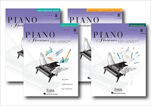 piano adventures level 3b set and popular repertoire book 5 book set lesson theory technique artistry performance and popular repertoire books