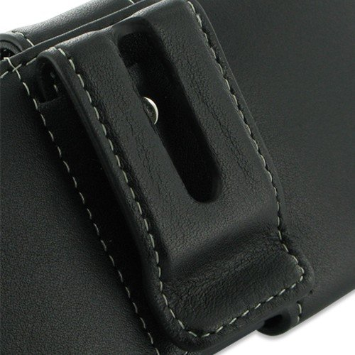 PDair P01 Black Leather Case for Samsung Galaxy S Advance GT-i9070