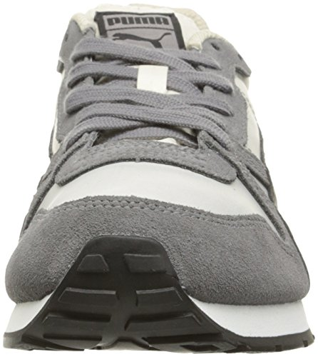 PUMA Womens Yarra Classic Wns Cross-Trainer Shoe, Steel Gray/Birch, 11 M US