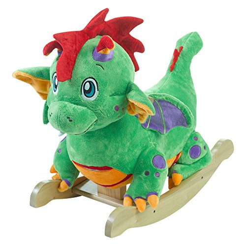 - Rockabye Poof the Lil' Dragon Rocker, One Size