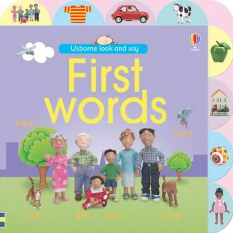 Read Online First Words (Usborne Look and Say) PDF