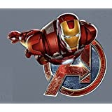 "Iron-Man FATHEAD Marvel Avengers Official Vinyl Wall Graphic 24""x23"" INCH"