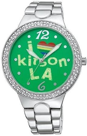 4c00ae26f5 Amazon   [キットソン]kitson 腕時計 KW0006 レディース   kitson ...