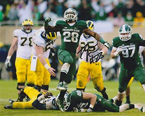 (Denicos Allen Michigan State Spartans NCAA 8x10'' Autograph Photo - Vs. Michigan)