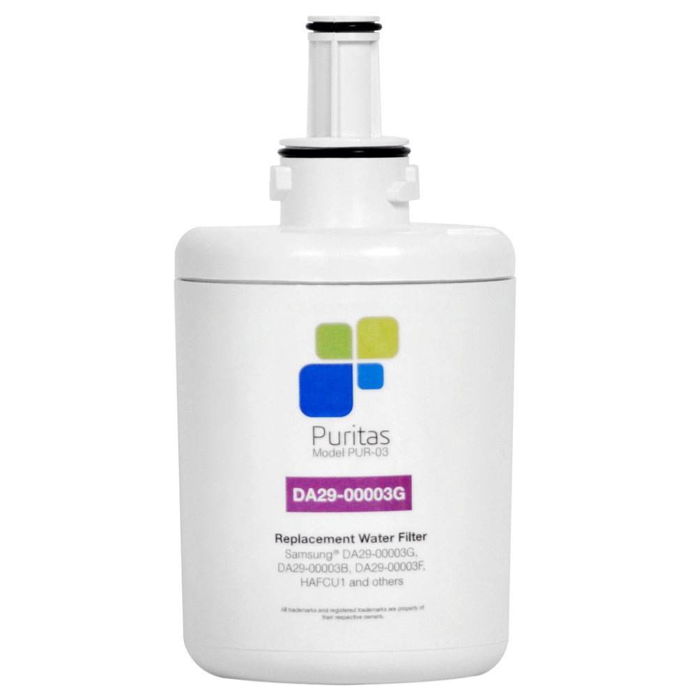 Puritas Replacement DA29-00003G Refrigerator Water Filter (Pur-03) Made In The USA