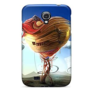Excellent Design Heart Home Phone Case For Galaxy S4 Premium Tpu Case