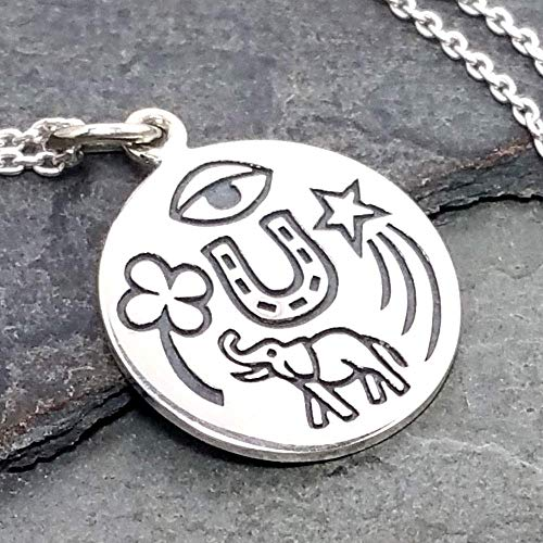 - Lucky Amulet Necklace - 925 Sterling Silver