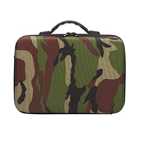 (Christmas Hot Sale!!!Kacowpper Camouflage Shoulder Handheld Waterproof Storage Bag Case for DJI Mavic 2 Series)