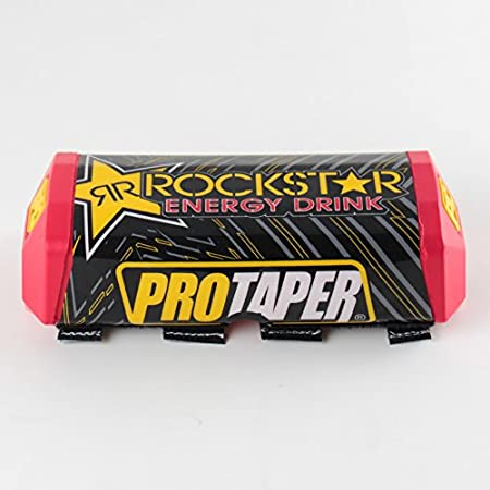Protaper Rockstar Handlebar Fat Bar Pad Slider Grip For Dirt Pit BikeMotorcycle Motocross Handlebar (Yellow) China